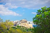 picture of akropolis  - Beautiful view of ancient Acropolis Athens Greece