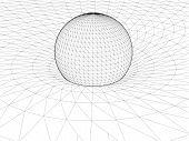 Einstein's Wire Net General Theory Of Relativity Structure Vector