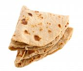 stock photo of ghee  - Chapati - JPG