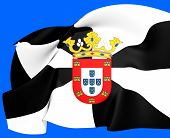 stock photo of ceuta  - Flag of Ceuta Spain - JPG