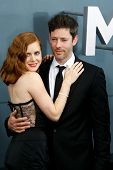 NEW YORK-JUNE 10: Actress Amy Adams and husband Darren Le Gallo attend the world premiere of
