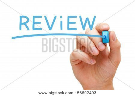 Review Blue Marker