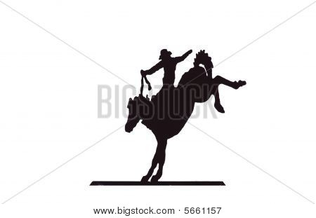 Buckaroos - Cowboy On Bucking Bronco