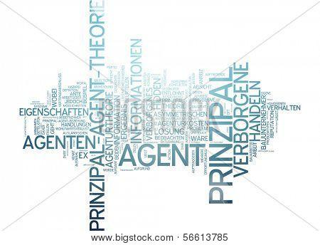 Word Cloud - Principal-Agent Theory