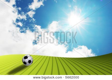 Soccer Landsacape