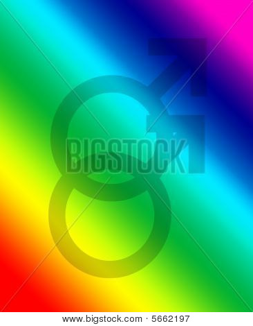 Gay Symbol Background