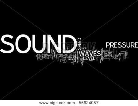 Word Cloud - Sound