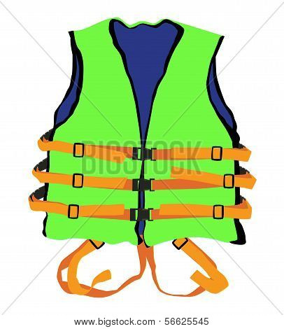 Green Life Jacket