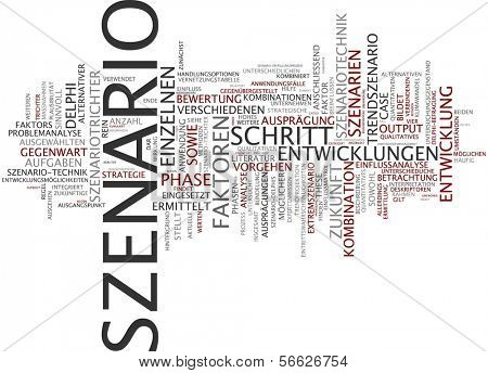 Word Cloud -  Scenario