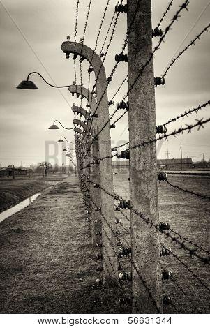 Nazi Concentration Camp Auschwitz Birkenau