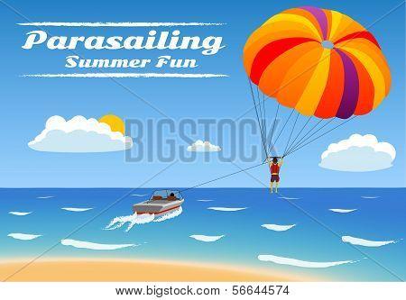 Parasailing - Summer Kiting Activity