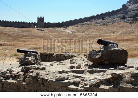Mauer der Festung