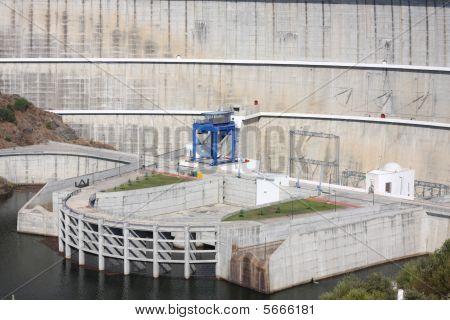 Alqueva Dam Detail
