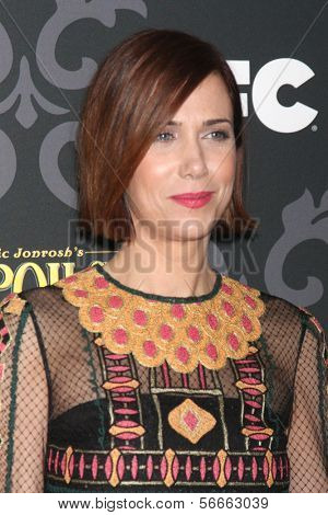 """LOS ANGELES - JAN 7:  Kristen Wiig at the IFC's """"The Spoils Of Babylon"""" Screening at Directors Guild of America on January 7, 2014 in Los Angeles, CA"""