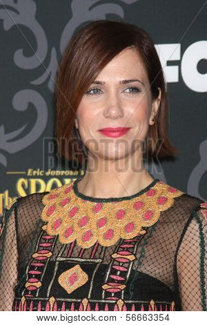 LOS ANGELES - JAN 7:  Kristen Wiig at the IFC's
