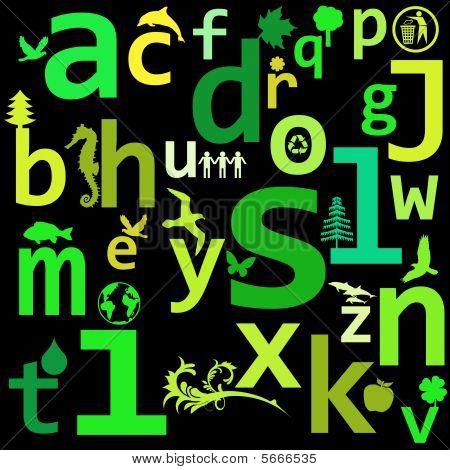 Eco Alphabet