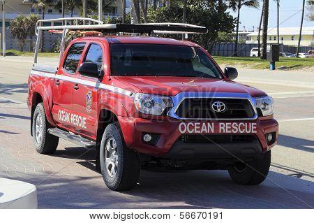 Ocean Rescue Truck