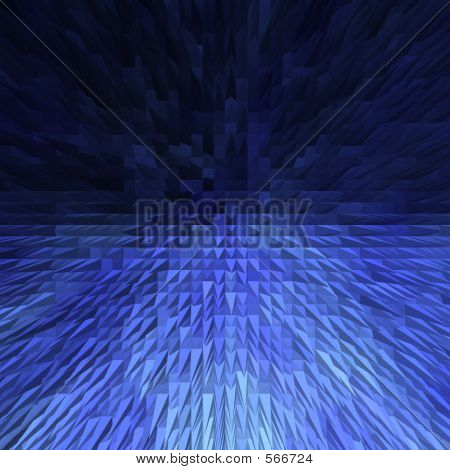 Blue Extrude