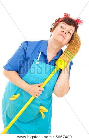 Cleaning Lady - Daydreaming