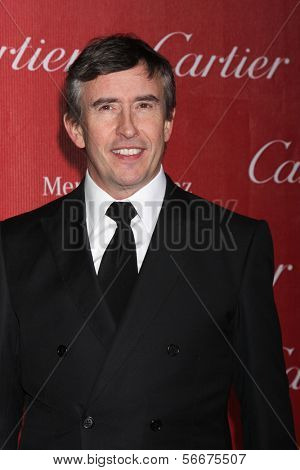 PALM SPRINGS - JAN 4:  Steve Coogan at the Palm Springs Film Festival Gala at Palm Springs Convention Center on January 4, 2014 in Palm Springs, CA