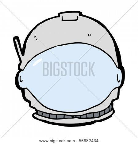 cartoon astronaut face