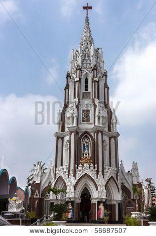 Saint Mary's Basilica In Bangalore.