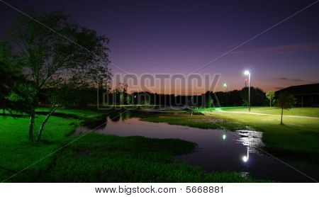 Ben Gill Park At Night