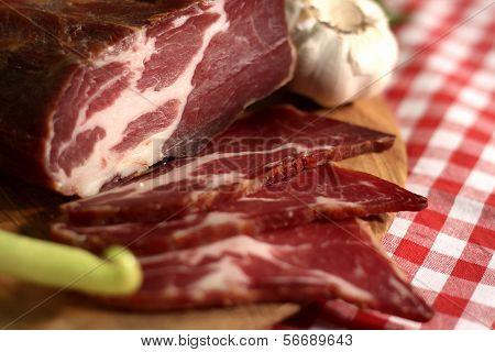 Ham meat