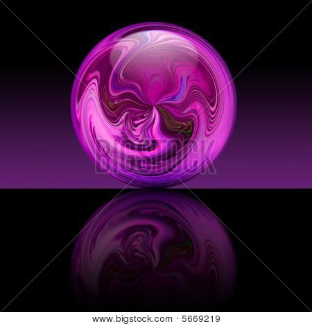 Magic Purple Ball