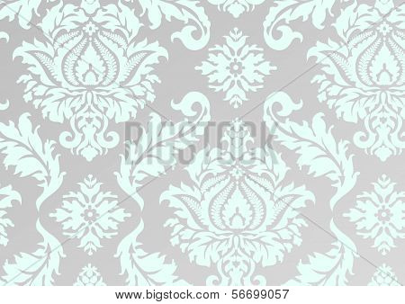 Damask Repeat Pattern.