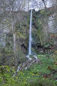 pic of swabian  - The waterfall of Bad Urach Swabian Alb Baden-Wuerttemberg