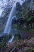 pic of swabian  - The waterfall of Bad Urach Swabian Alb Baden - JPG
