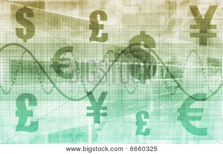 Currencies Collage