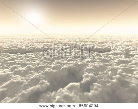 Freedom Above The Clouds