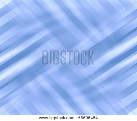 Abstract Line And Curve Blue Background