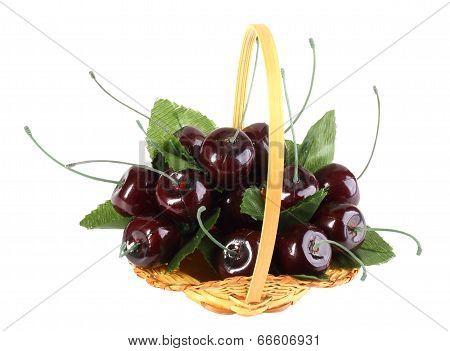 Heap Of Artificial Cherries