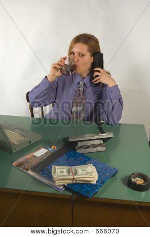 Mujer de oficina