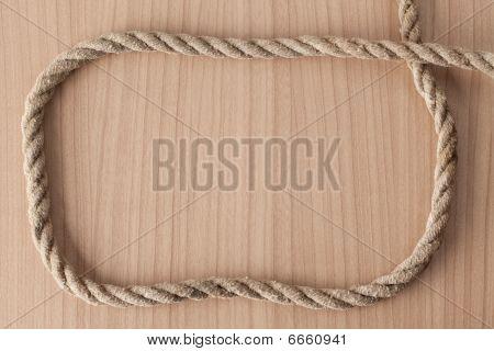 Frame Make From Rope