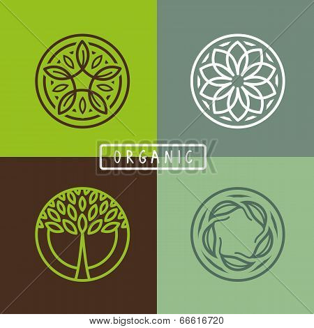 Vector Abstract Emblem - Ecology