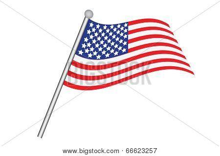 United States Of America's Flag.