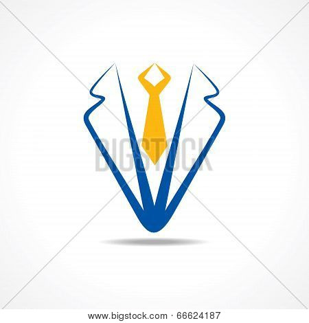 Abstract coat symbol stock vector
