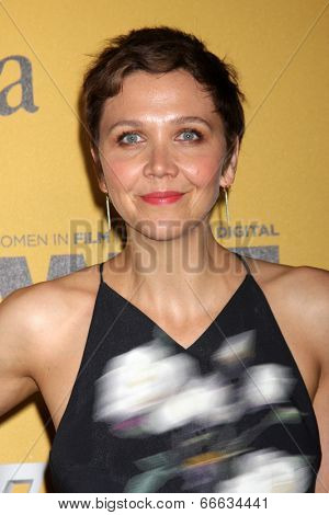 LOS ANGELES - JUN 11:  Maggie Gyllenhaal at the Women In Film 2014 Crystal + Lucy Awards at Century Plaza Hotel on June 11, 2014 in Beverly Hills, CA