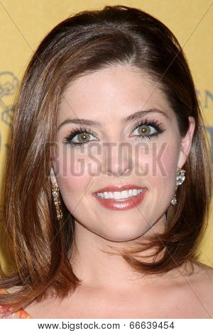 LOS ANGELES - JUN 11:  Jen Lilley at the Women In Film 2014 Crystal + Lucy Awards at Century Plaza Hotel on June 11, 2014 in Beverly Hills, CA