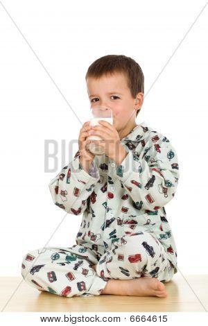 Glass Of Milk Before Bedtime