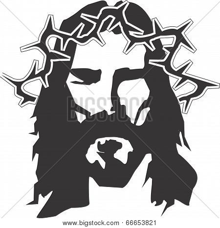 Jesus religious faith vector design clipart