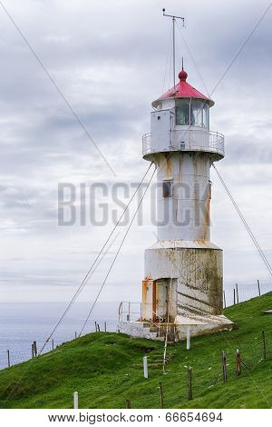 Lighthouse on Mykines.