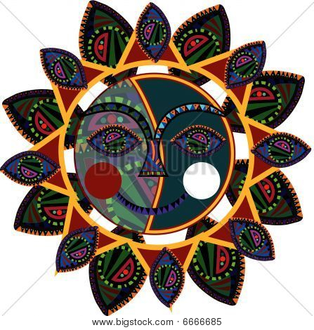 Ethnic sun