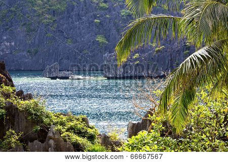 Wonderful Lagoon In El Nido, Philippines