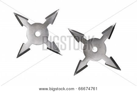 Shuriken Isolated