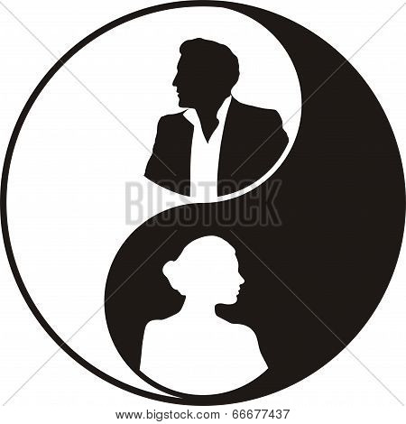 Yin And Yyin and yang - male and female principles
